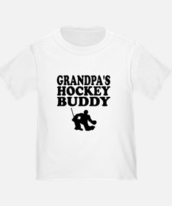 Grandpas Hockey Buddy T-Shirt