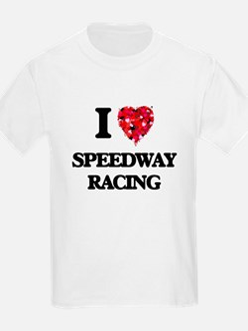 I Love Speedway Racing T-Shirt
