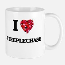 I Love Steeplechase Mugs