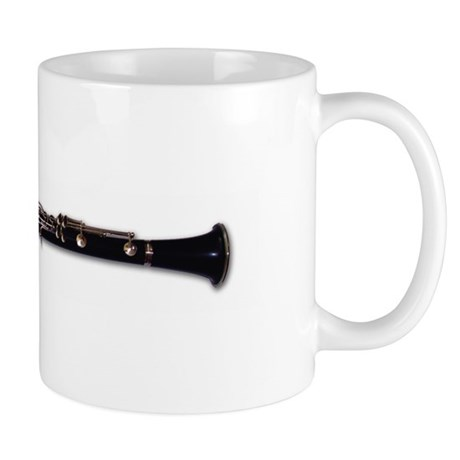 Horizontal Clarinet Mug