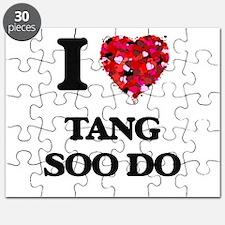 I Love Tang Soo Do Puzzle