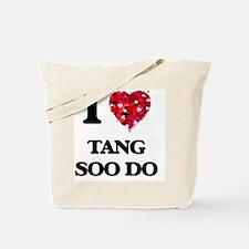 I Love Tang Soo Do Tote Bag
