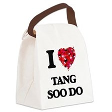 I Love Tang Soo Do Canvas Lunch Bag