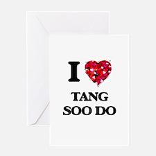 I Love Tang Soo Do Greeting Cards