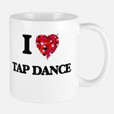I Love Tap Dance Mugs