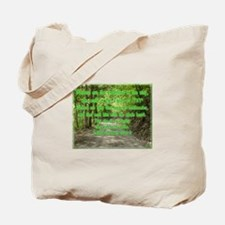 """Blessed are the undefiled in the way"" Tote Bag"