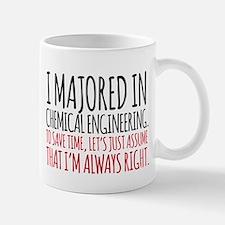 Chemical Engineer Major Mugs