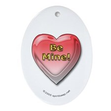 "Valentine's Day ""Be Mine"" Keepsake Pendant"