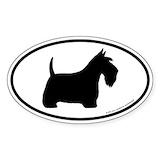 Scottish terrier Stickers & Flair