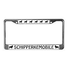 Schipperkemobile License Plate Frame
