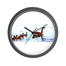 Mother Goose. Wall Clock
