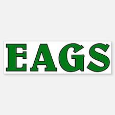 EAGS green blk stroke bumper Bumper Bumper Bumper Sticker