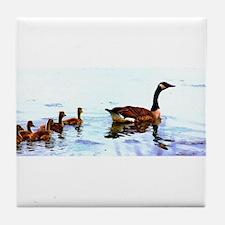Mother Goose. Tile Coaster