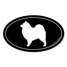 Samoyed Oval Decal