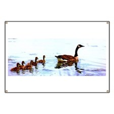Mother Goose. Banner