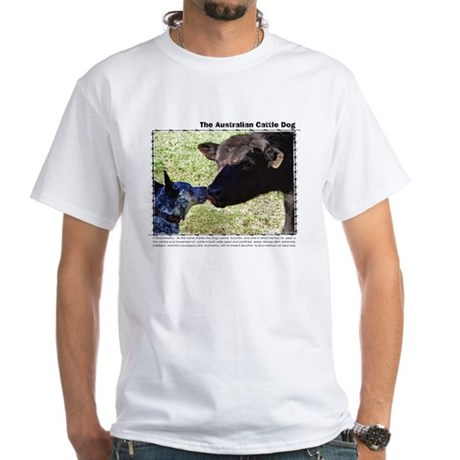 Save a Cattle Dog White T-Shirt
