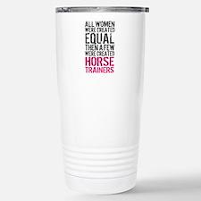 Horse Trainer Women Stainless Steel Travel Mug