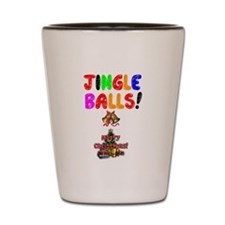 CHRISTMAS - JINGLE BALLS - HAPPY CHRIST Shot Glass