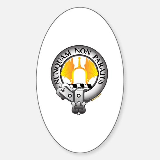 Johnstone Clan Sticker (Oval)