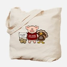 Holiday Dinner Campaign Tote Bag