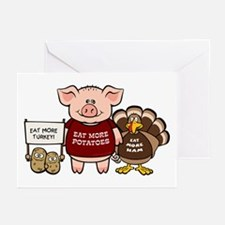 Holiday Dinner Campaign Greeting Cards (Pk of 20)
