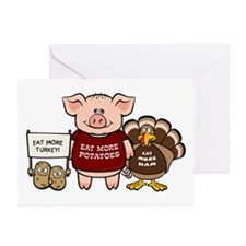 Holiday Dinner Campaign Greeting Cards (Pk of 10)