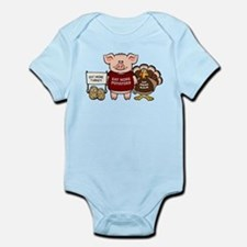 Holiday Dinner Campaign Infant Bodysuit