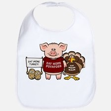 Holiday Dinner Campaign Bib