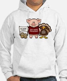 Holiday Dinner Campaign Hoodie
