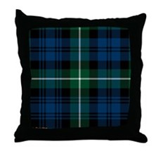 Lamont Clan Throw Pillow
