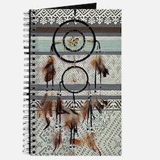 native tribal pattern dream catcher Journal