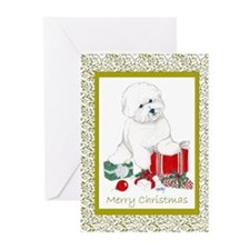 Unique Warhol bichon Greeting Cards (Pk of 20)