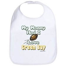 My Mommy And I Love Green Bay Bib