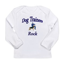 Cute Dog trainer Long Sleeve Infant T-Shirt