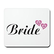Bride Black Mousepad
