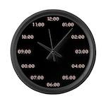 Digital Analog Large Wall Clock