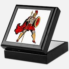 Spartan Warrior Keepsake Box