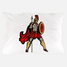 Spartan Warrior Pillow Case