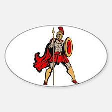 Spartan Warrior Decal