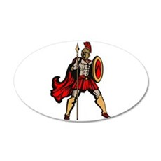 Spartan Warrior Wall Sticker