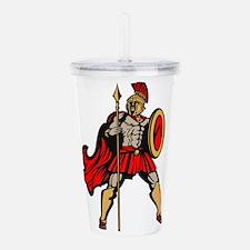 Spartan Warrior Acrylic Double-wall Tumbler