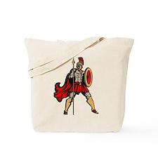 Spartan Warrior Tote Bag