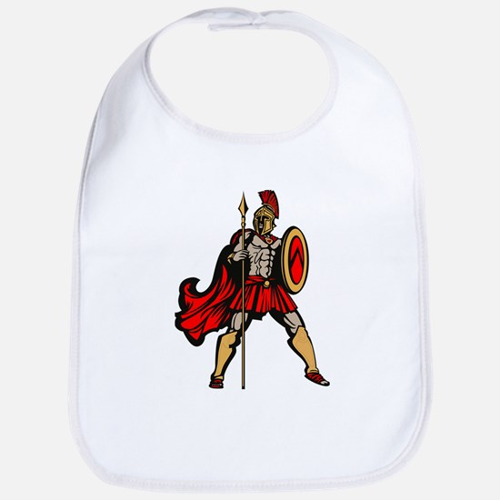 Spartan Warrior Bib