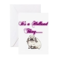 Its A Holland Thing Greeting Cards