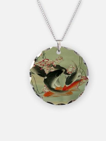 zen japanese koi fish Necklace