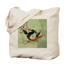 zen japanese koi fish Tote Bag
