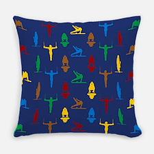 Mens Gymnastics Everyday Pillow
