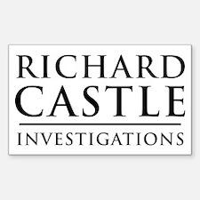 Richard Castle Investigations PI Decal