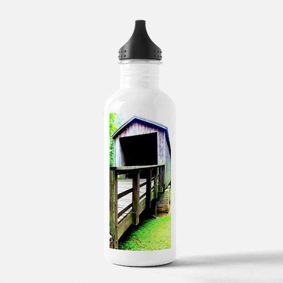 Covered Bridge. Water Bottle