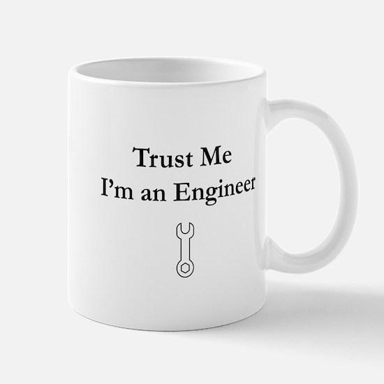 Trust Me, I'm an Engineer (Black) Mugs